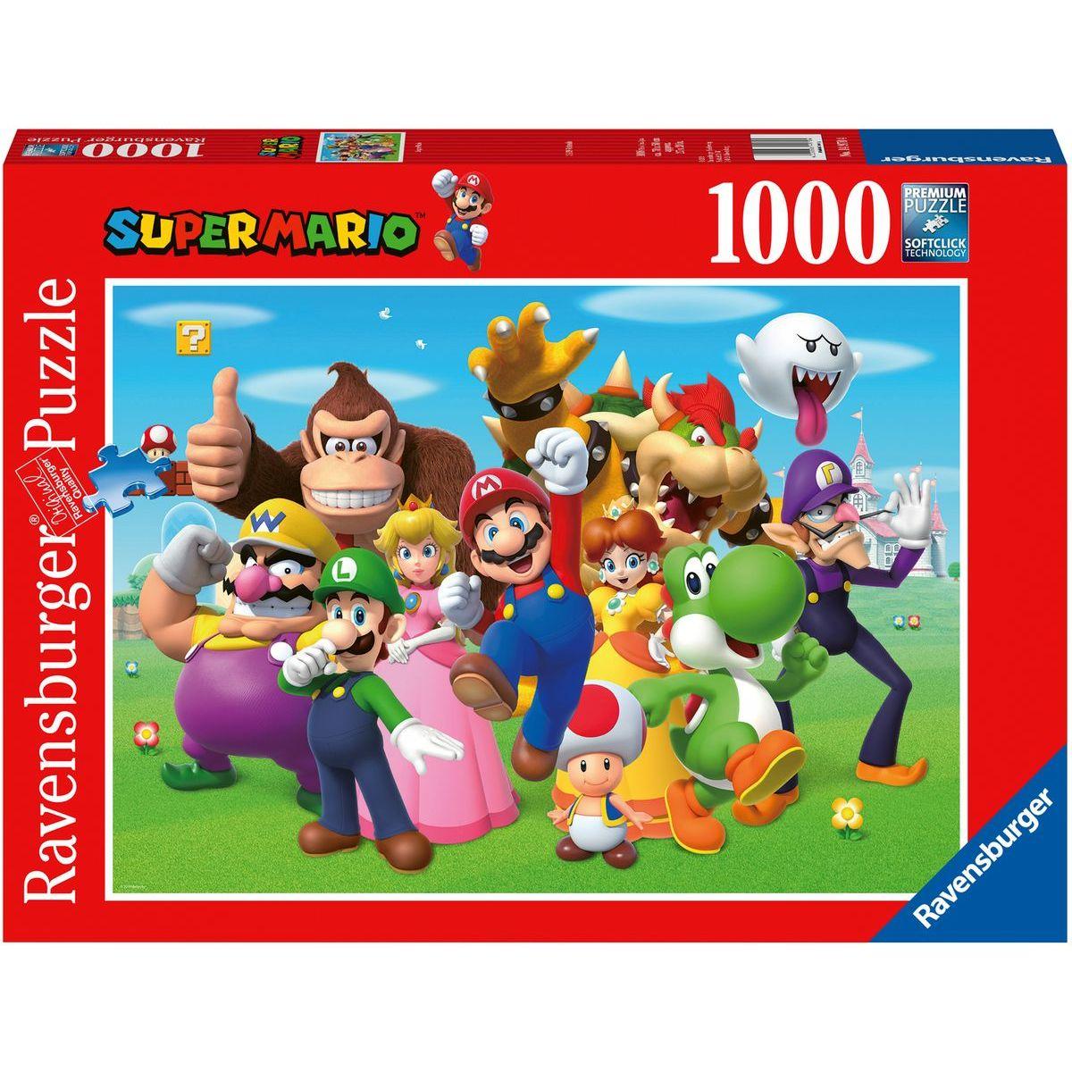 Ravensburger puzzle Super Mario 1000 dílků