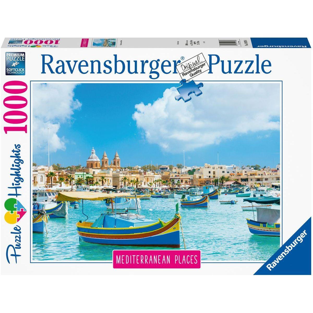 Ravensburger puzzle Malta 1000 dílků