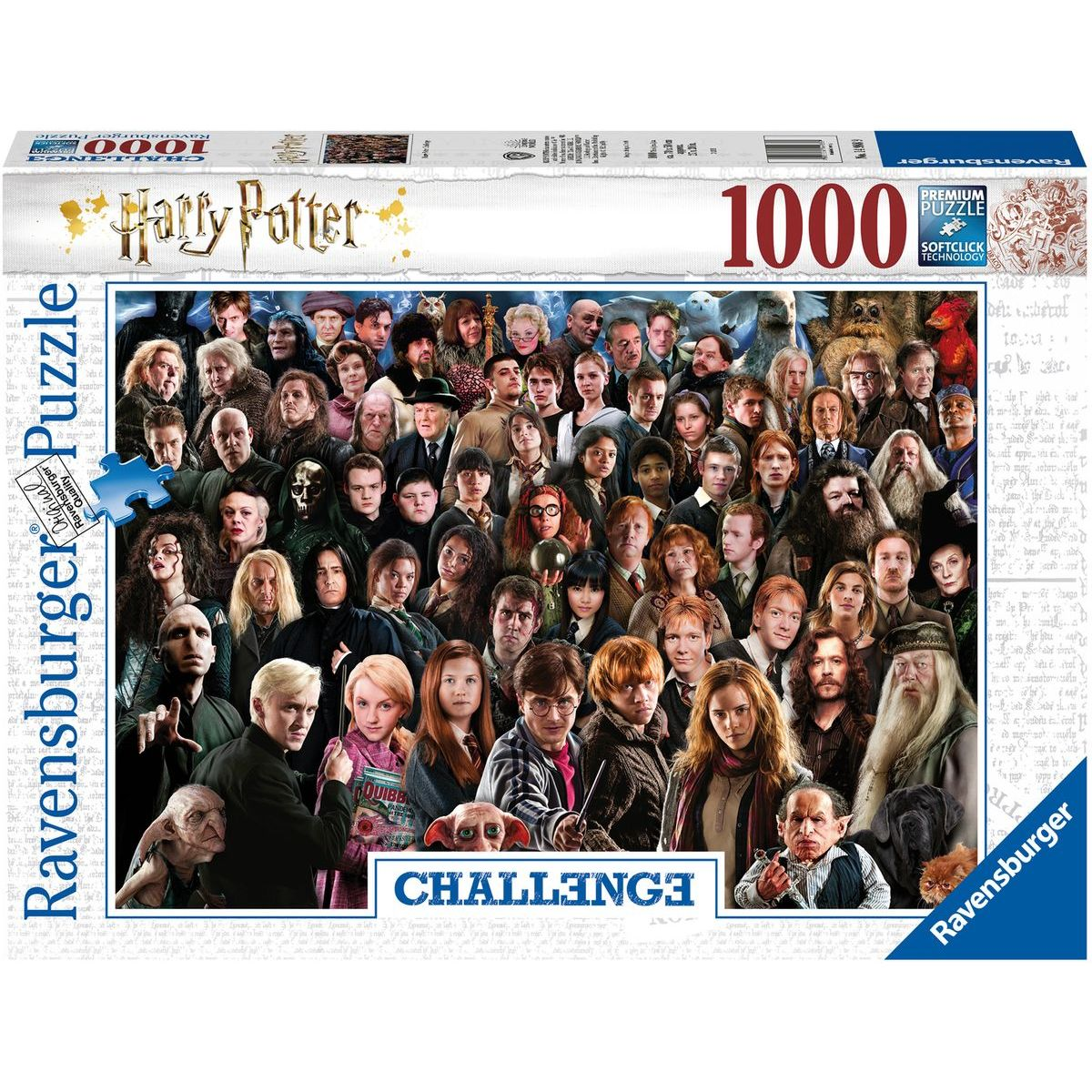 Ravensburger puzzle 149889 Harry Potter 1000 dílků