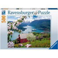 Ravensburger puzzle Krajina 500 dílků