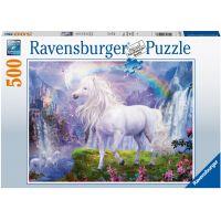Ravensburger puzzle Kůň a duha 500 dílků