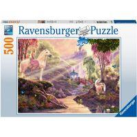 Ravensburger puzzle Kouzelná řeka 500 dílků