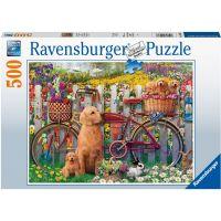 Ravensburger puzzle Roztomilí psi 500 dílků