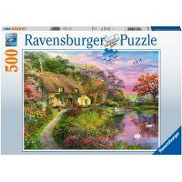 Ravensburger puzzle Venkovský domek 500 dílků