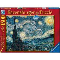 Ravensburger puzzle Vincent van Gogh Starry Night 1500 dílků