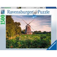 Ravensburger puzzle Mlýn u Baltského moře 1500 dílků