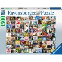 Ravensburger puzzle 99 koček 1500 dílků