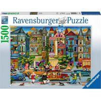 Ravensburger puzzle Malované dámy 1500 dílků