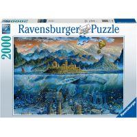 Ravensburger puzzle Chytrá velryba 2000 dílků