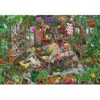 Ravensburger puzzle Exit Puzzle Skleník 368 dílků
