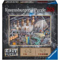 Ravensburger puzzle Exit Puzzle: V továrně na hračky 368 dílků