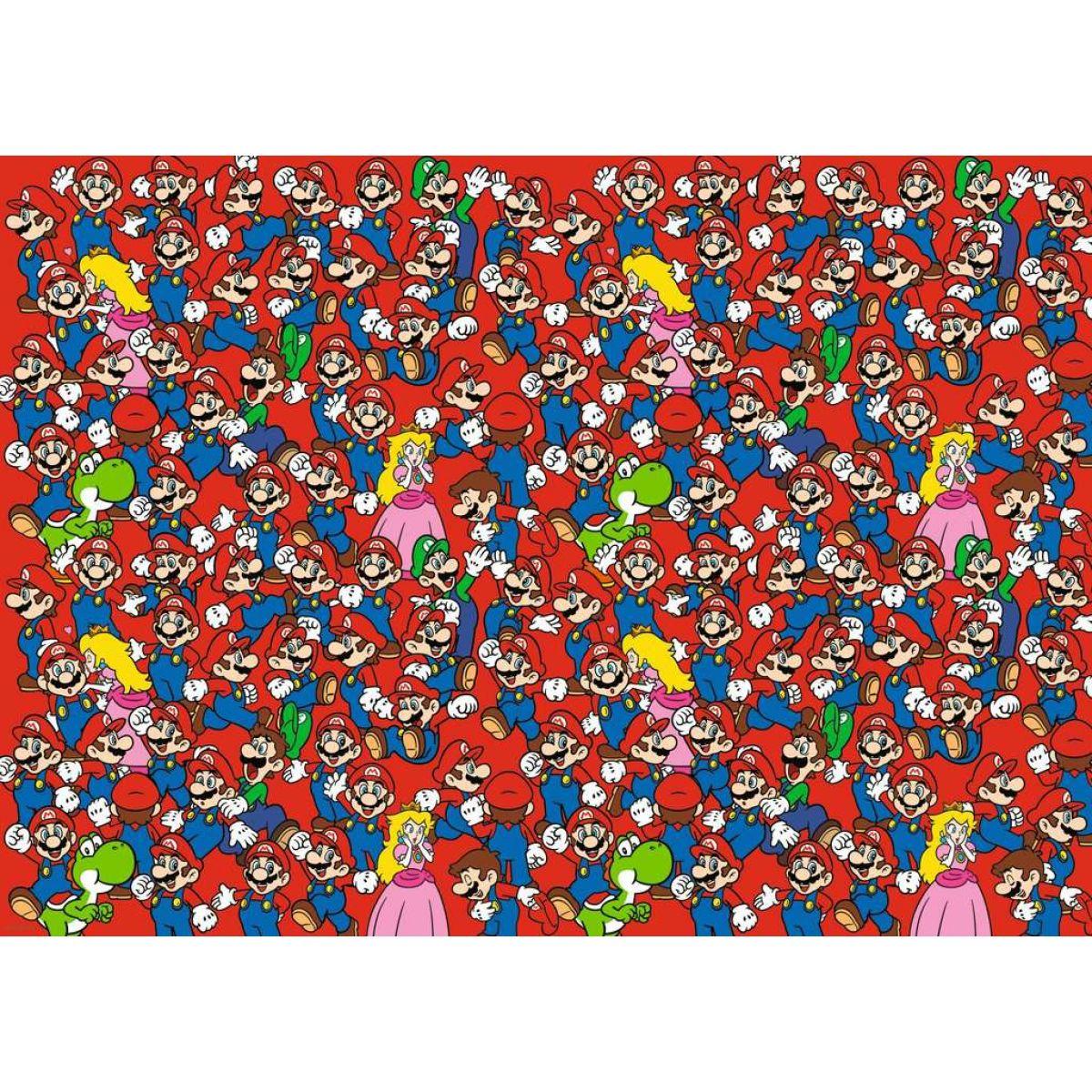 Ravensburger puzzle 165254 Super Mario Výzva 1000 dielikov