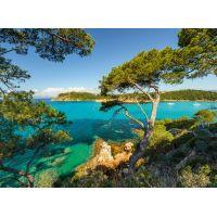 Ravensburger Puzzle Skalnaté pobřeží 500 dílků