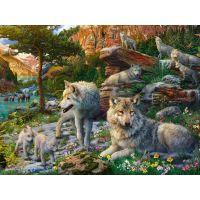 Ravensburger Puzzle Jarní vlci 1500 dielikov