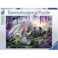 Ravensburger puzzle Dragon Valley 2000 dílků