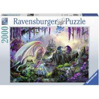 Ravensburger puzzle Dragon Valley 2000 dílků