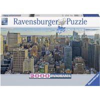 Ravensburger puzzle Pohled na New York 2000 dílků