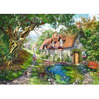 Ravensburger Puzzle Kvetinový kopec 1000 dielikov