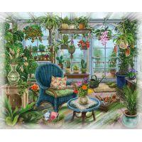 Ravensburger Puzzle Exit Puzzle Zimní zahrada 99 dílků