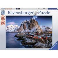 Ravensburger puzzle Norwegen 3000 dílků