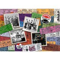Ravensburger Puzzle 197514 The Beatles Lístky 1000 dílků