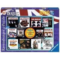 Ravensburger Puzzle The Beatles Skladby 1000 dílků