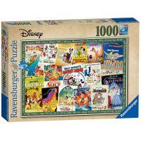 Ravensburger Puzzle 198740 Disney Vintage 1000 dílků