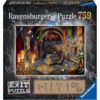 Ravensburger puzzle Exit Puzzle Upírův hrad 759 dílků