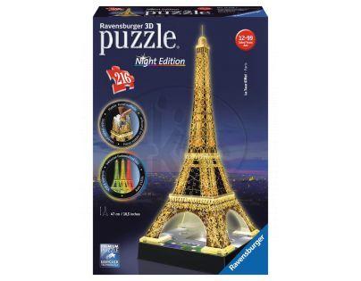 Eiffelova věž (Noční edice)  3D 216d (Ravensburger 12579)