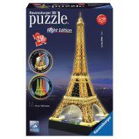 Ravensburger Eiffelova věž 3D Noční edice 216 dílků