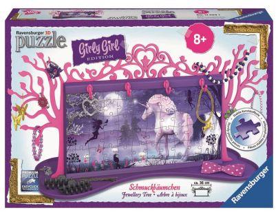 Ravensburger 3D Girly Girl Šperkovnice Jednorožec