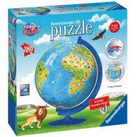 Ravensburger Puzzle 3D Globus puzzleball 180 dílků anglický