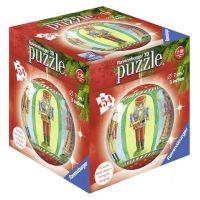 Ravensburger Puzzle 3D Merry Chrismas puzzleball 54 dílků Bubnující panáček