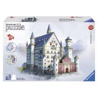 Ravensburger 3D puzzle Neuschwanstein 216 dielikov - Poškodený obal