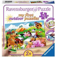 Ravensburger Puzzle Zvířata ze statku 12 plastových dílků