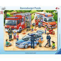 Ravensburger Puzzle Záchranná práce 30 dílků