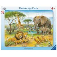 Ravensburger Puzzle Africký svět zvířat 30 dílků