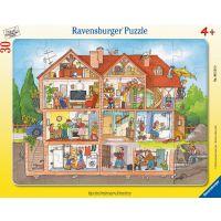 Ravensburger Puzzle Interiér domu 30 dílků