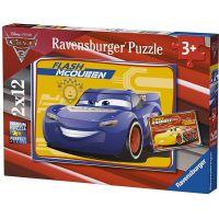 Ravensburger Puzzle 76147 Disney Auta 3 2x12 dílků