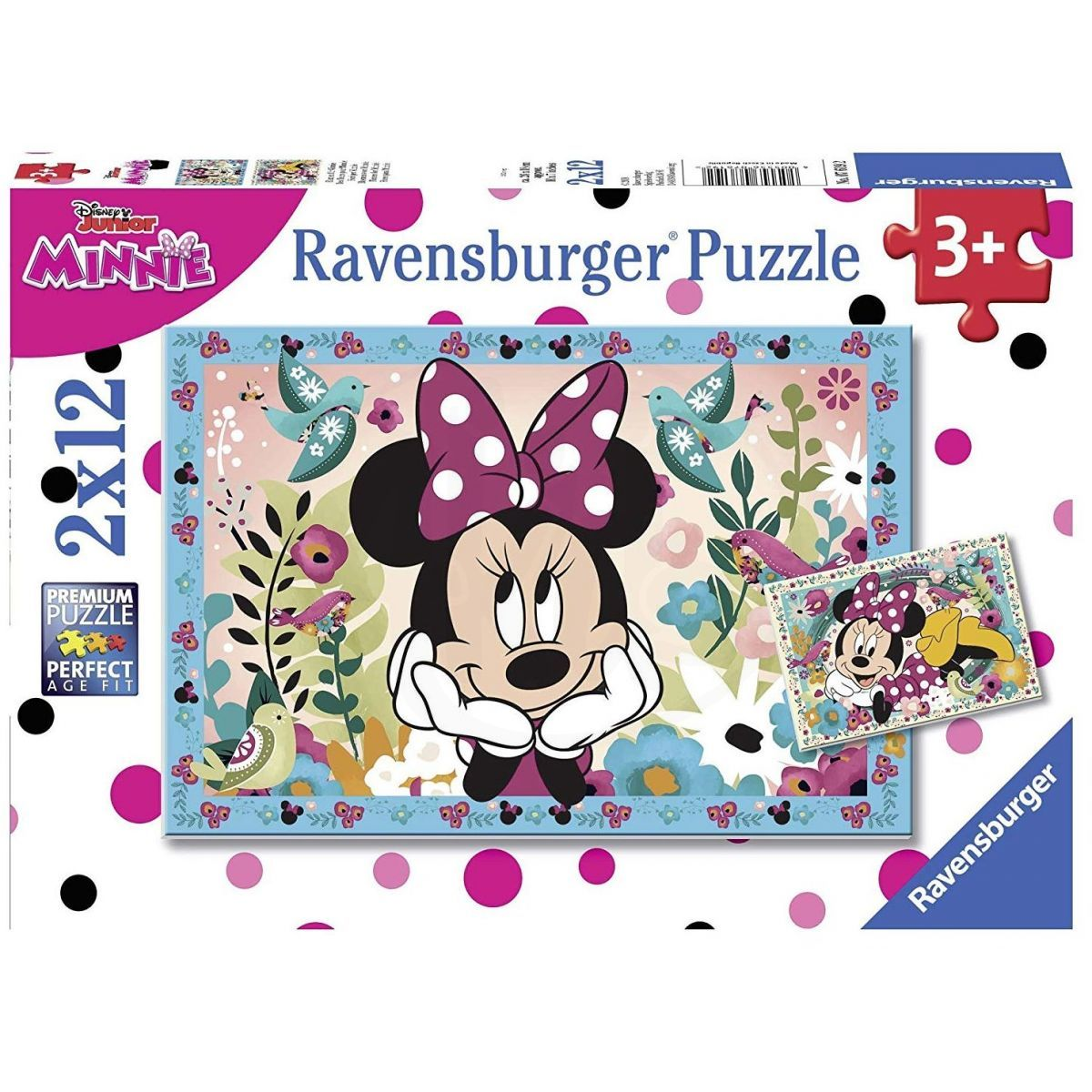 Ravensburger Puzzle 76192 Disney Minnie 2x12 dílků