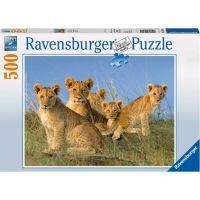Ravensburger Puzzle 77915 Lvíčí mláďata 500 dílků