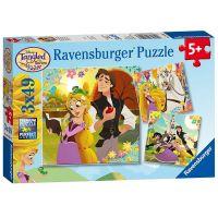 Ravensburger Puzzle Disney Na Vlásku 3 x 49 dílků