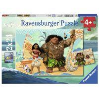 Ravensburger Puzzle Disney Vaiana 2 x 24 dílků