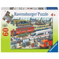 Ravensburger Puzzle Železniční stanice 60 dílků