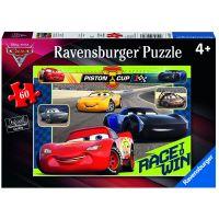 Ravensburger Puzzle Disney Auta Závod začíná 60 dílků
