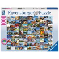 Ravensburger Puzzle 99 krásných míst USA, Kanada 1000 dílků