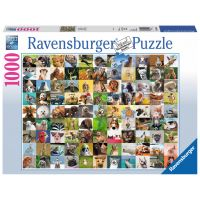 Ravensburger Puzzle 99 legračních zvířat 1000 dílků