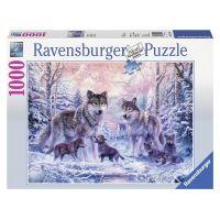 Ravensburger Arktičtí vlci 1000 dílků