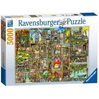 Ravensburger Bizarní město 5000 dílků