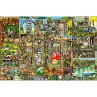 Ravensburger Bizarní město 5000 dílků 2